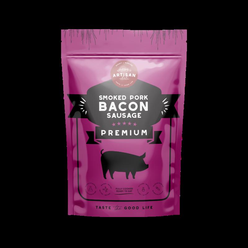 Smoked Pork Bacon Sausage 200 gms