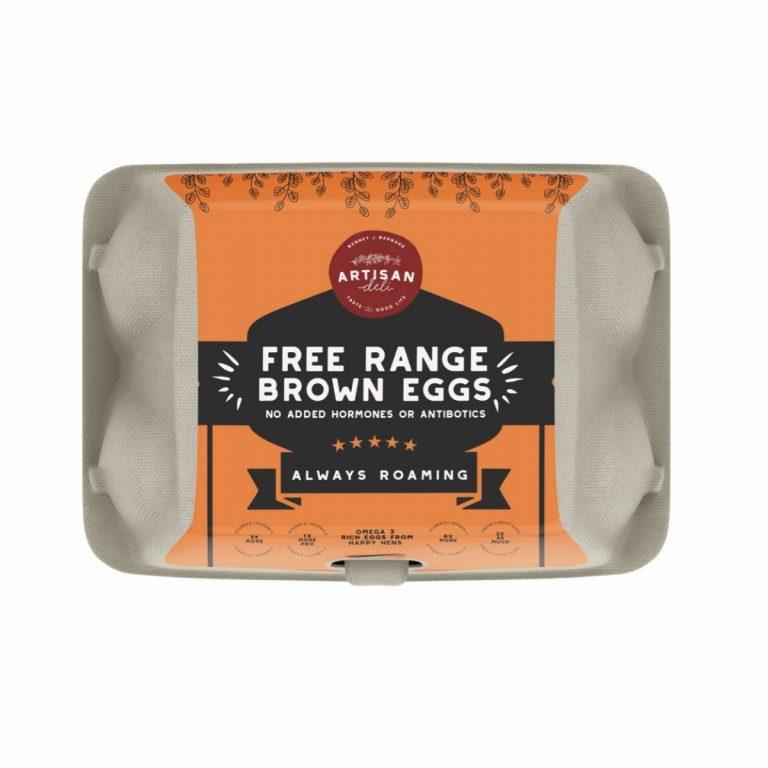 Free Range Brown Eggs